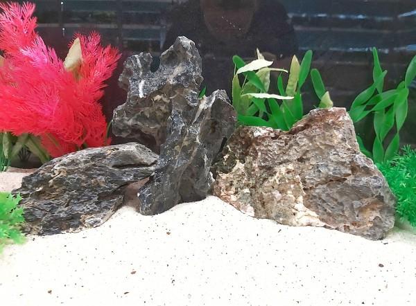 Mini Landschaften - Seiryu Rocks die Tollen Steine für das Aquarium bei Wiebies Aquawelt