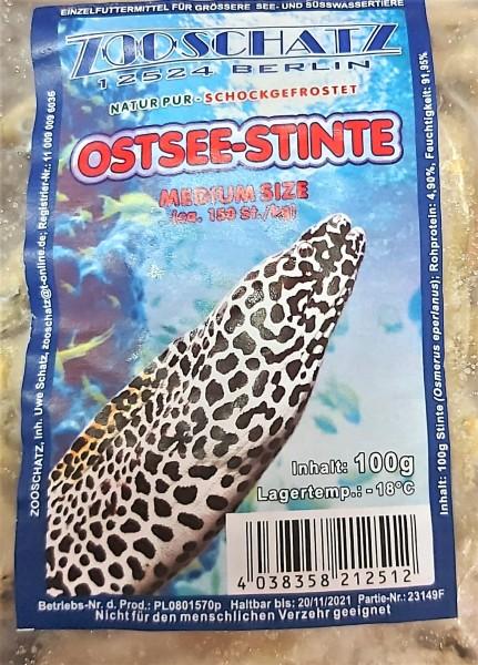 Ostseestinte im 100g Minigripbeutel für Barsche, Cichliden, Schildkröten und Welse das optimale Frostfutter