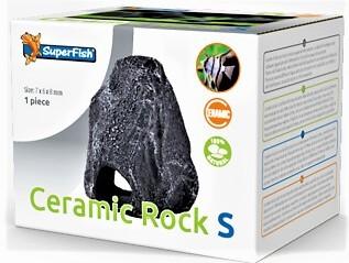 Ceramic Rock S die natürliche Ceramicdeko als Stein getarnt für Barsche und Welse als optimales Versteck