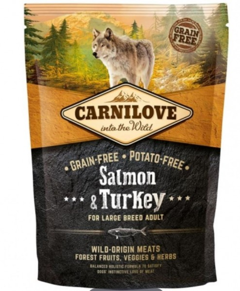 Carnilove Salmon Turkey 1,5kg Hundefutter Trockenfutter Nassfutter für Hunde von Carnilove das gesund Hundefutter