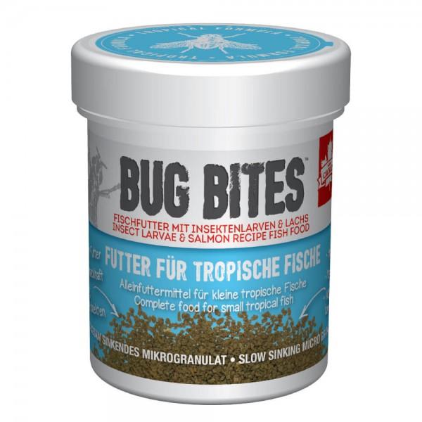 Bug Bites für kleine Tropische Fische 45g , Fluval Futter, Insektefutter für Zierfische