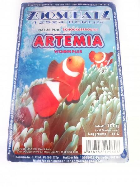 Artemia 100g Blister Frostfutter für zierfische und Welse in dresden