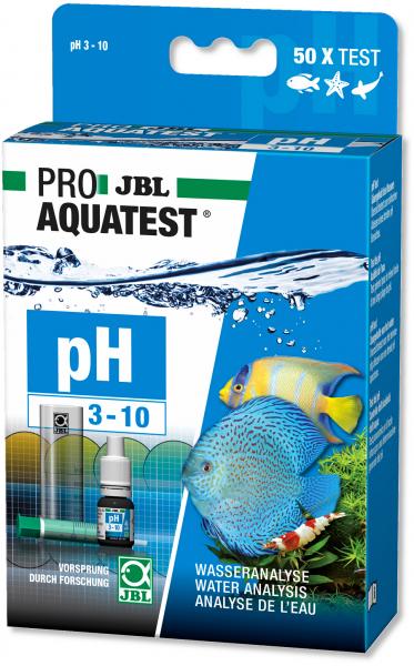 Proaqua PH Test 3-10 Wassertest von JBL PH Test für Süßwasser, Meerwasser und Teich bei Wiebies Aquawelt