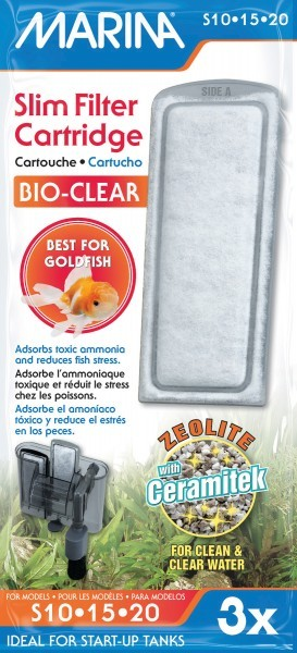 Marina Slim Bio Clear Filtermedien für den Marina Rucksackfilter S10 und S15 jetzt online kaufen