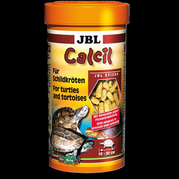 Calcil 250ml das Minerallfutter von JBL für Schildkröten, Landschildkröten, Sumpfschildkröten und Schildkrötenfutter