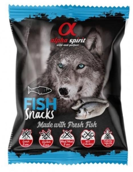 alpha spirit Dog Snack Fisch 85% Fleisch