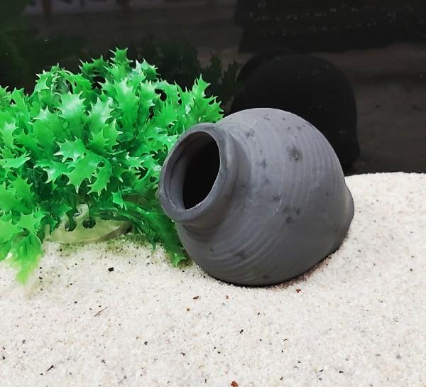 Tonamphore klein schwarz