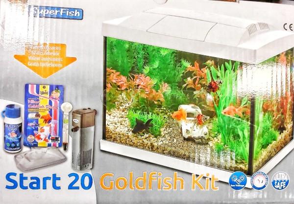 Start 20 Tropical Kit Aquarium das Starter Nanoaquarium für den kleinen Geldbeutel und weitere tolle Aquarien, Zierfische und garnelen bei Wiebies Aquawelt