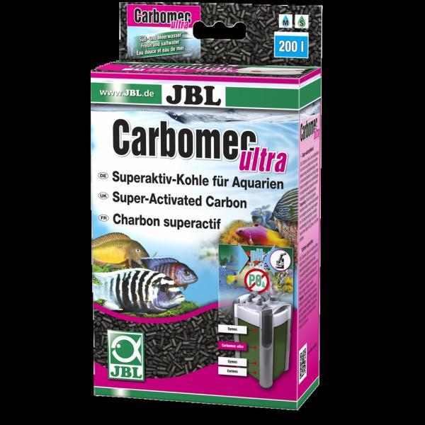 Carbomec ultra 400g von JBL zur Filterung von organischen Belastungen und Medikamentenrückständen bei Wiebies Aquawelt