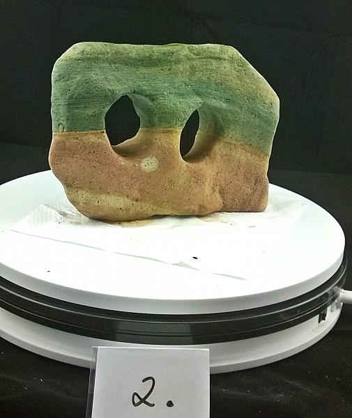 Regenbogenstein, Regenbogenschiefer, Rainbow Stone Drachensteine, Lochstein, Grenn Rocks, Ingwer Rocks und viele tolle Steine mehr.  Das Hardscape für jedes Aquarium.