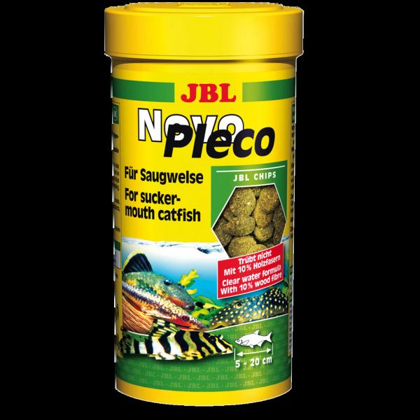 Novo Pleco 250ml die Grünfuttertabs für Welse, Ancistren und Bodenbewohner von JBL bei Wiebies Aquawelt