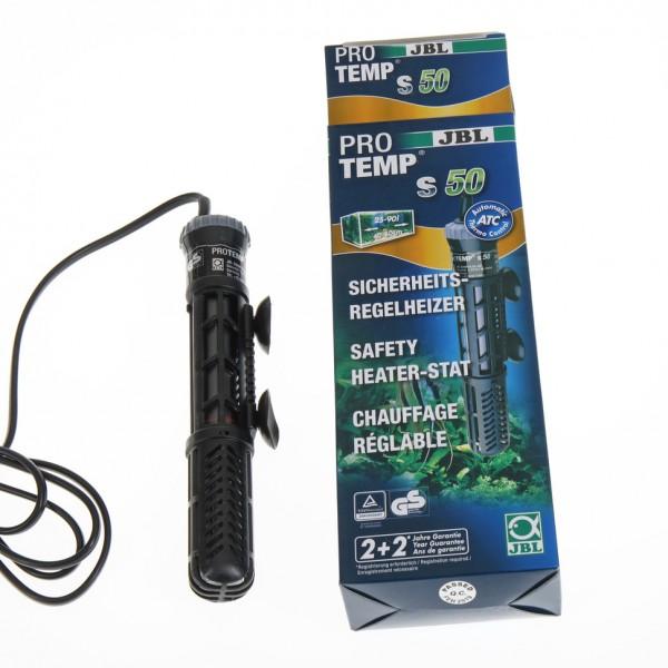 Pro Temp 50 Watt von JBL für kleine Aquarien der optimale Aquarienheizer und Heizstab um die Temperatur im Aquarium aufrecht zu erhalten