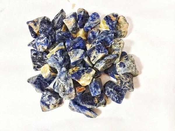 Blauer Sodalith Wetrocks die natürliche bunte Gestalltund von Aquarien mit Drachensteinen, Pagodensteinen, Lava Steinen bei Wiebies Aquawelt