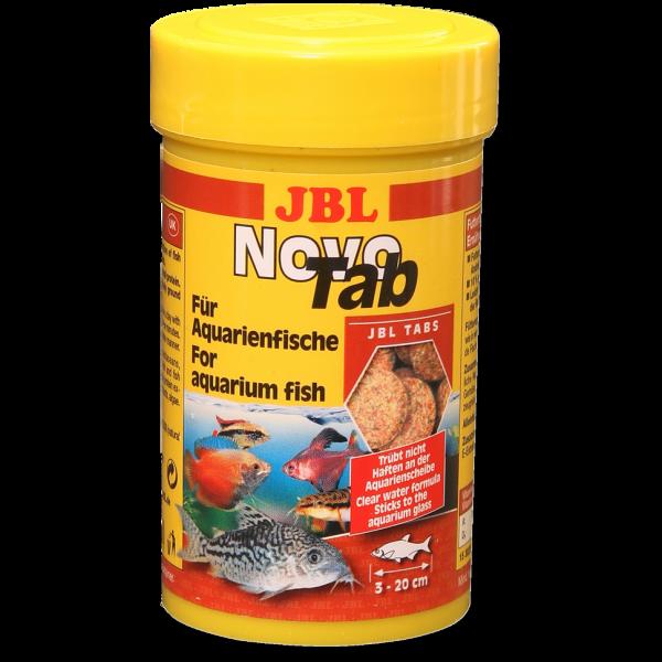 JBL NovoTab Hauptfutter-Tabletten für alle Aquarienfische und Welse bei Wiebies Aquawelt