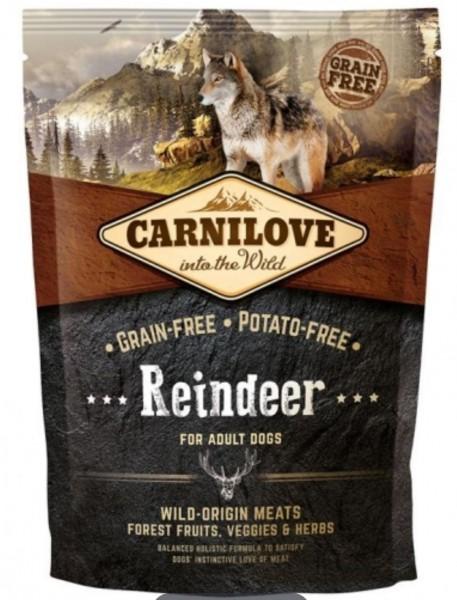 Carnilove Reindeer 1,5kg Hundefutter Trockenfutter Nassfutter für Hunde von Carnilove das gesund Hundefutter