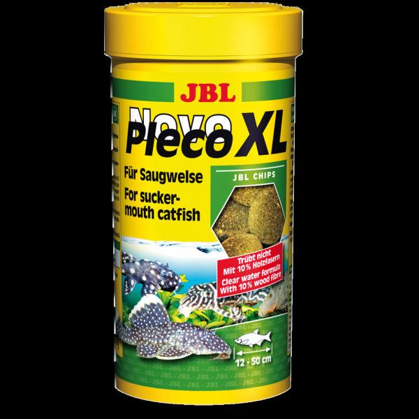 Novo Pleco XL 250ml die Grünfuttertabs für Welse, Ancistren und Bodenbewohner von JBL bei Wiebies Aquawelt