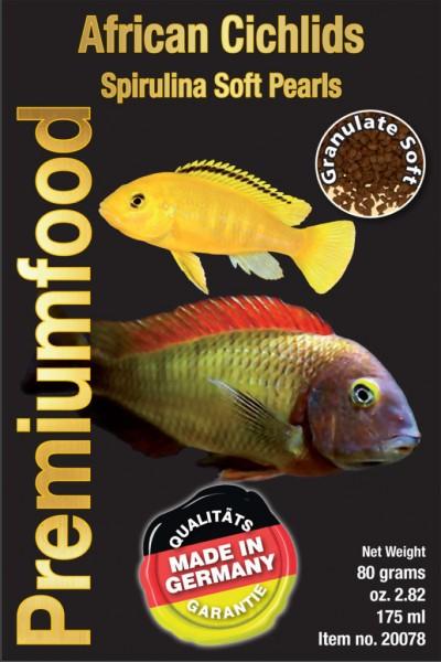 African Cichlid Pearls, Softpearls für Afrikanische Barsche und Cichliden von Discusfood ind Top Qualität bei Wiebies Aquawelt