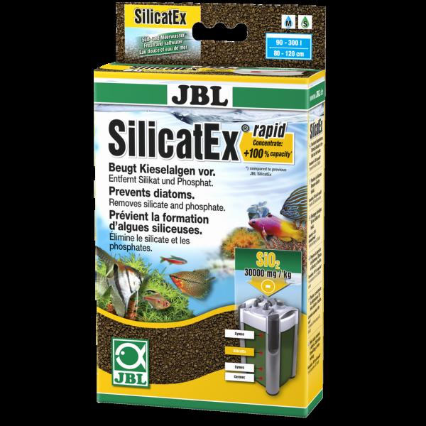 SilicatEx rapid 400g zur sicheren und einfachen Entfernung von überschüssigen Silikatwerten und reduzierung von Kieselalgen und Schmieralgen im Aquarium