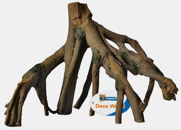 Mangroven Dekowurzel aus Kunstharz für Aquarindekorationen