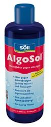 AlgoSol 500ml von Söll für die Entfernung von Schwebealgen und Blaualgen