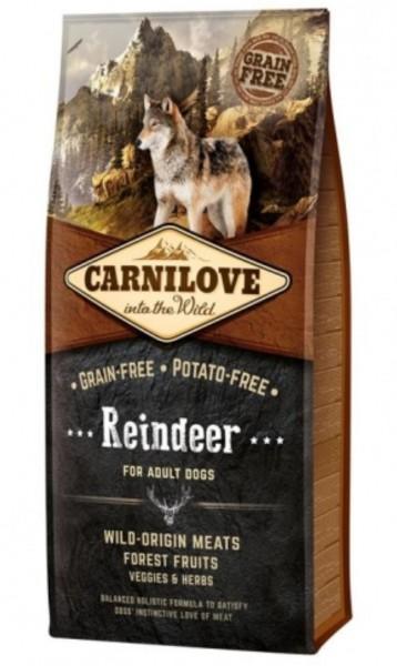Carnilove Reindeer 12kg Hundefutter Trockenfutter Nassfutter für Hunde von Carnilove das gesund Hundefutter